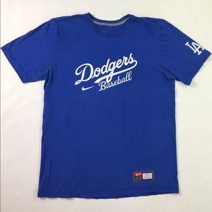 NIKE Los Angeles Dodgers Baseball Graphic T Shirt